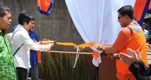 Launching program Kampung Berseri di Desa Mekarwangi, Lembang, Bandabar. Rabu (4/2/15).  (asih/rz)