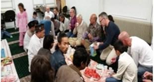 Komunitas Muslim Indonesia di Utrecht menggelar acara buka puasa bersama. (Supardi/SGB Utrecht)
