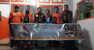 RZ berangkatkan 12 relawan ke pedalaman Talang Mamak dalam program Ekspedisi Bakti Relawan. (Rena/RZ)