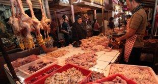 Ilustrasi pedagang daging ayam. (tribunnews)