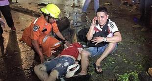 Serangan bom di dekat Kuil Erawan, Bangkok, Thailand (malaysiakini.com)