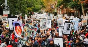 Aksi anti polisi rasis di Amerika (freemalaysiatoday.com)