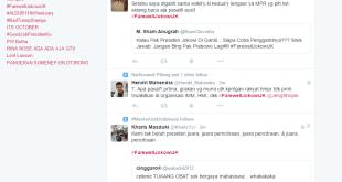 hashtag #Farewelljokowijk trending topic di Twitter