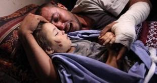 Rahaf Hassan, balita yang menjadi korban serangan Israel. (alwatanvoice.com)