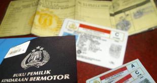 Surat-surat kendaraan bermotor (inet). (teropongsenayan.com)