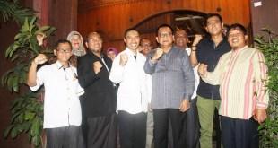 Silaturahim Pengurus PKS DKI Jakarta dengan Pengurus Gerindra DKI Jakarta. (Zakaria/humaspksdkijakarta)