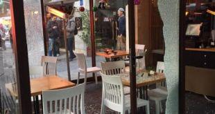 Kerusakan yang ditimbulkan serangan bersenjata di Tel Aviv. (i24news)