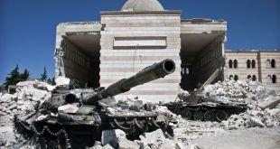 Suriah porak poranda akibat perang berkepanjangan. (felesteen.ps)