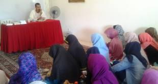 Pelatihan menulis Forum Komunikasi Muslimah Indonesia di Malaysia) daerah Perak. (YY Farikha/FOKMA)