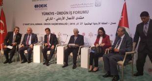 PM. Turki dalam pertemuan dengan PM. Yordania di Amman. (felesteen.ps)