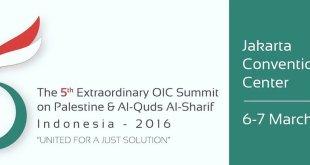 KTT Luar Biasa Organisasi Kerjasama Islam (OKI) tentang Palestina, di Jakarta (5-6/3/2016)