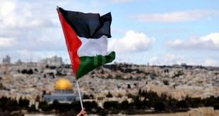 Memperingati hari bumi Palestina. (eramuslim.com)