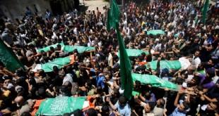Syuhada Palestina. (sindonews.net)