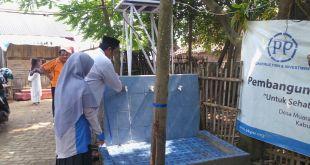 Peresmian Program Berbagi Air  di Kampung Kedung Bolang RT 3 RW 1 Desa Muara Kabupaten Tangerang. Ahad (24/7/2016). (Eka/Putri/PKPU)