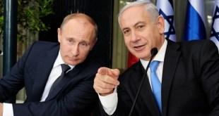 Vladimir Putin dan Benjamin Netanyahu (arabi21.com)