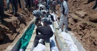 Korban tewas selama revolusi Suriah berlangsung. (Islammemo.cc)