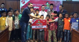 Khitanaatim dan Dhuafa, Kerjasama BI Riau dan PKPU, Ahad (14/8/2016). (ma/Putri/PKPU)