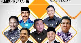 Sandiaga Uno dan Yusuf Mansur diantara 7 Calon Gubernur DKI Jakarta yang direkomendasikan Majelis Pelayan Jakarta. (detik.com)