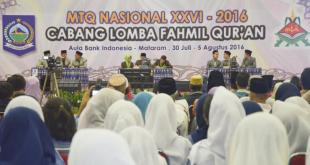 MTQ Nasional ke-26 di Mataram. (viva.co.id)