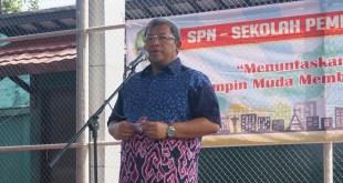 Gubernur Jawa Barat, Ahmad Heryawan membuka SPN (Sekolah Pemimpin Negarawan) sesi 4, Minggu (4/9/2016).