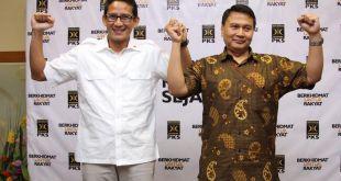 Partai Keadilan Sejahtera (PKS) bersama Partai Gerindra, sepakat mengusung duet Sandiaga Uno-Mardani Ali Cagub dan Cawagub di Pilkada DKI 2017.