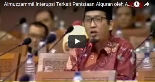 Anggota DPR RI Al Muzzammil Yusuf. (youtube)