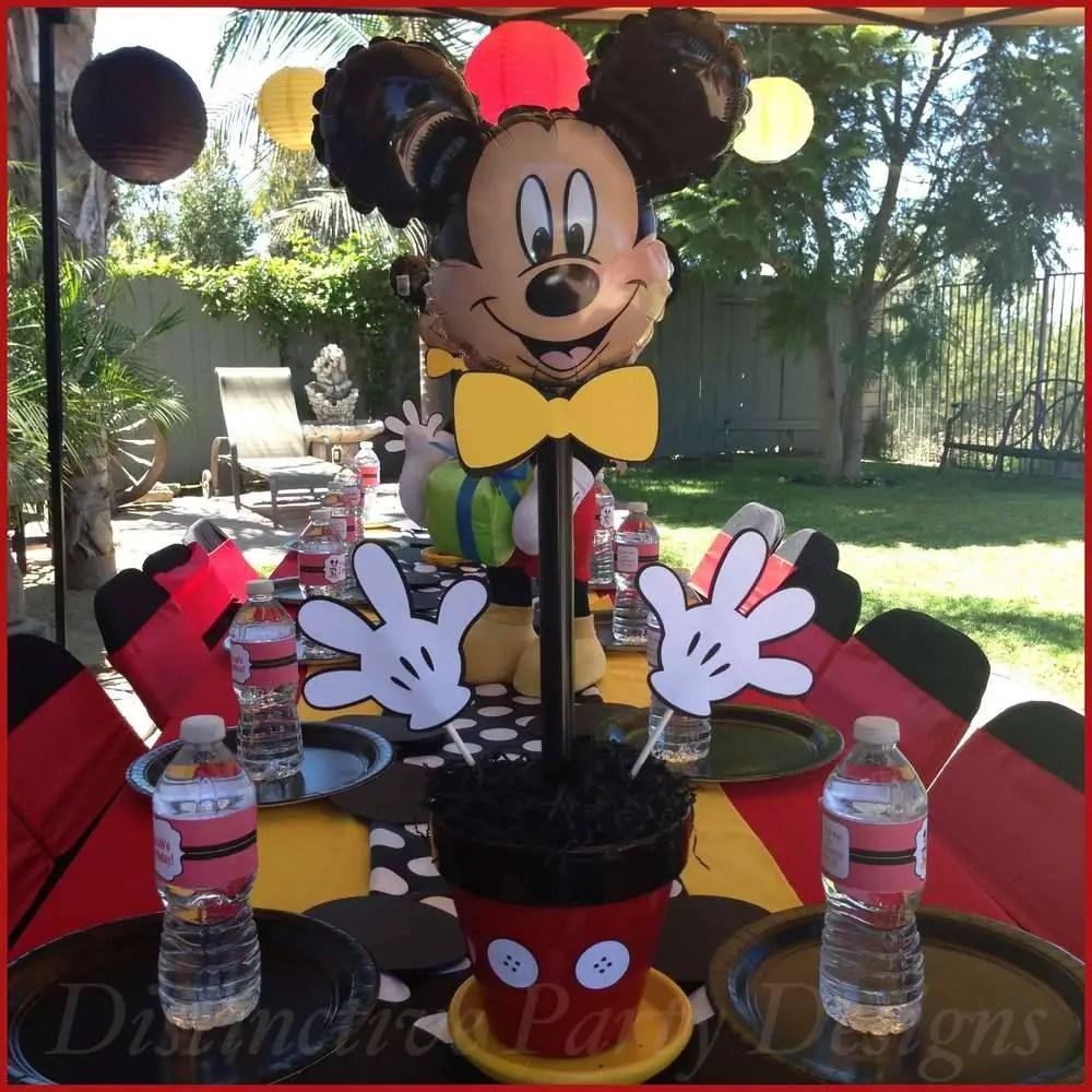 Fiesta tema mickey mouse - Vasos para cumpleanos infantiles ...