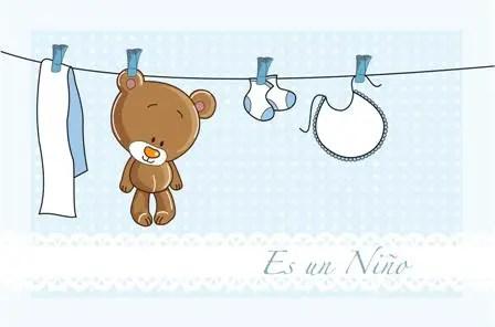 Imprimibles gratis para Baby Shower de ositos