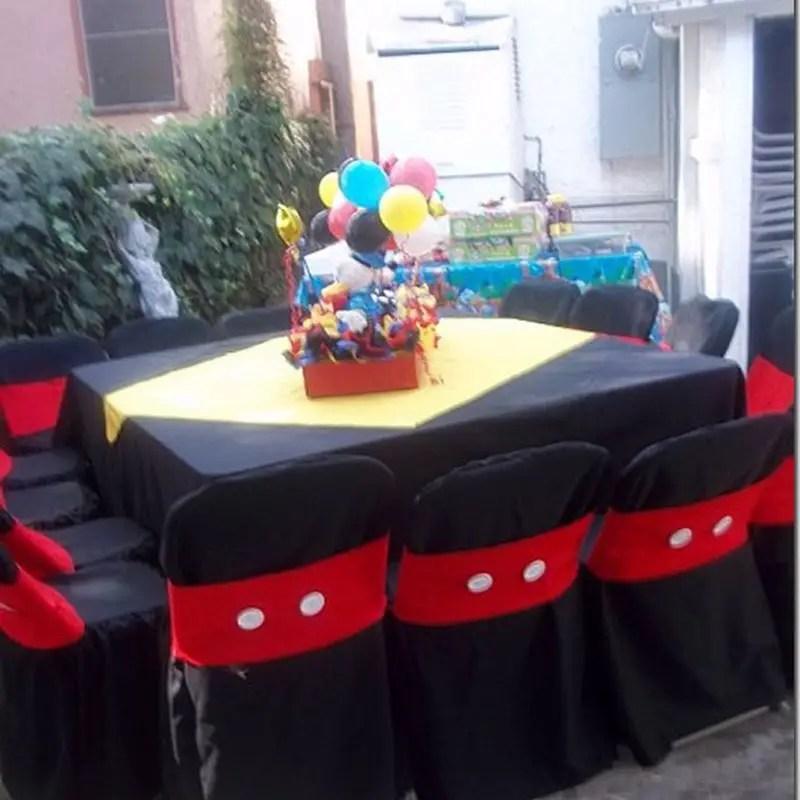 Decoraci n de sillas para fiestas infantiles for Decoracion de sillas para 15