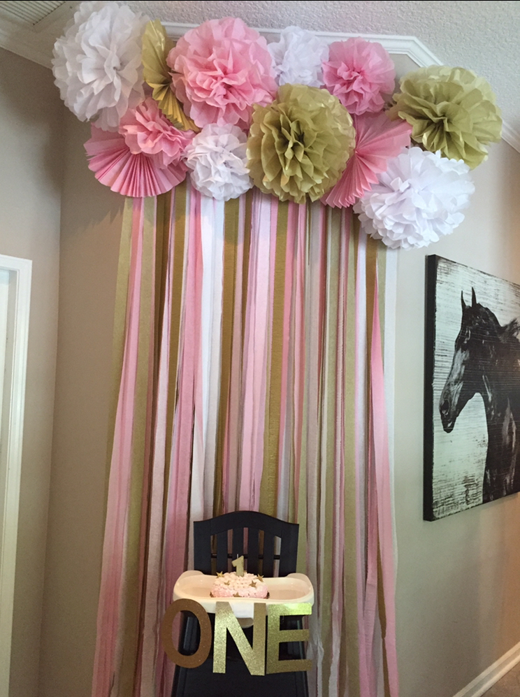 Ideas para decorar la silla del beb en su primer cumplea os - Silla de mesa para bebe ...