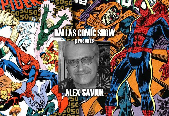 Legendary WEB OF SPIDER-MAN artist Alex Saviuk comes to DCS August 6-7