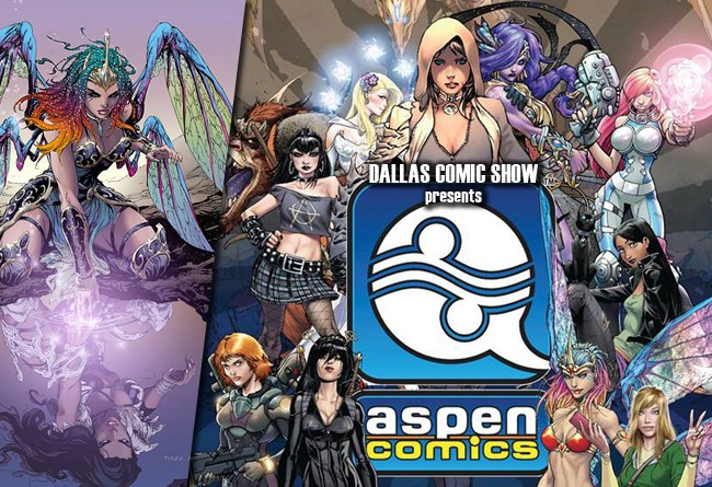 ASPEN COMICS is coming to Dallas Comic Show this August 6-7