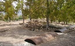 מצפה גולני - מערכת החפירות