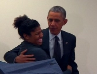 Man warns Obama: Don't touch my girlfriend