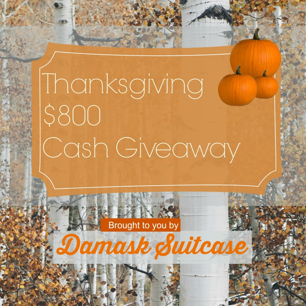 Thanksgiving Giveaway!
