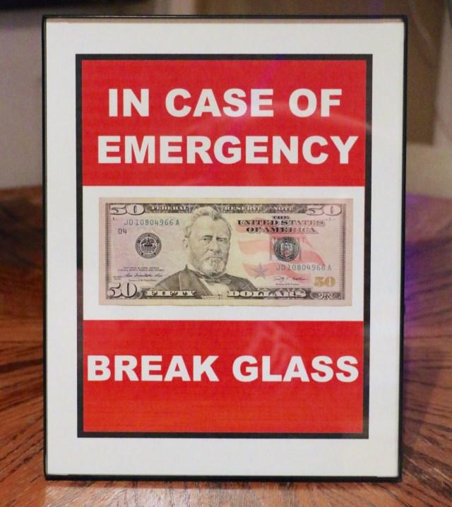 break glass 1