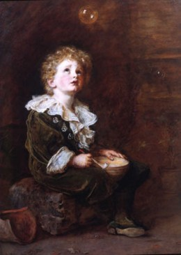 Bubbles: Millais' painting used to advertise Pears' Soap