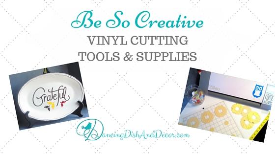 Vinyl Cutting Tools & Supplies