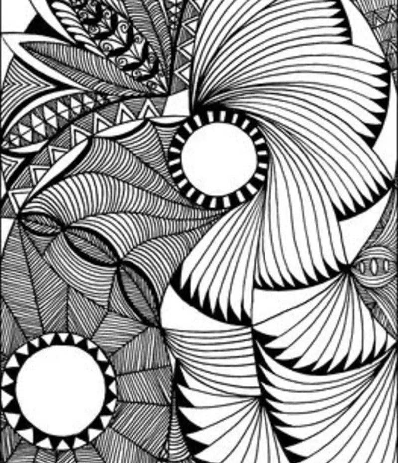Doodle Art Designs : Zen doodle it s all about the circle
