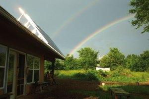 Rainbow Over Dancing Rabbit
