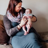 Portrait of Becky and Heathcliffe Swan
