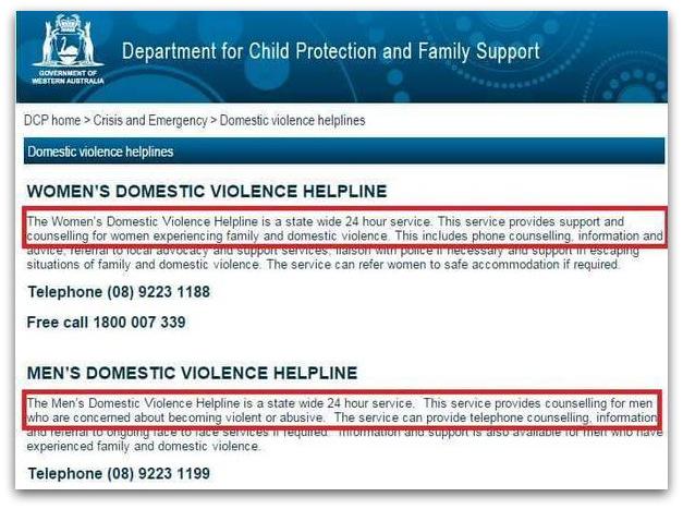 male victims of domestic violence