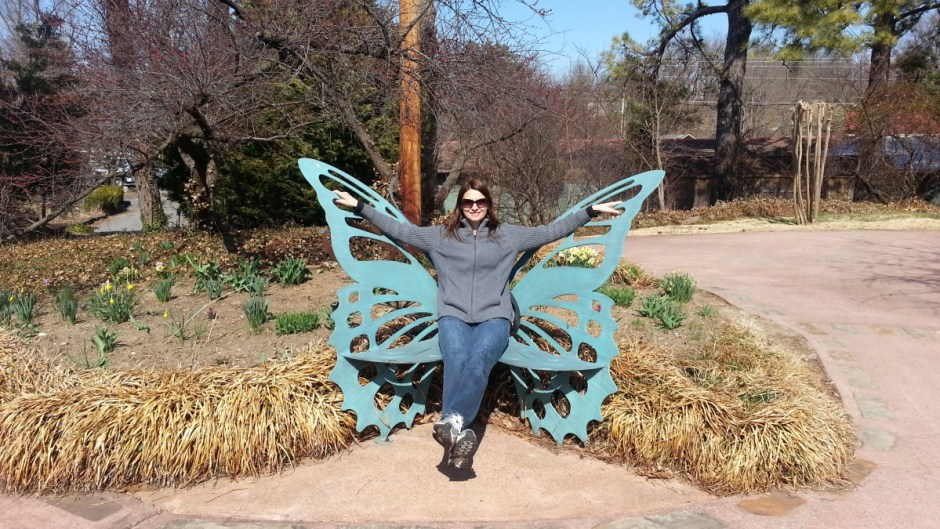 Butterfly Chair at Patti's 1880's Settlement
