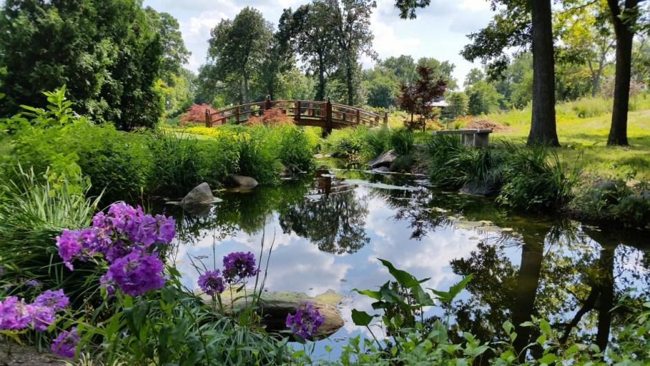 Wellfield Botanic Gardens, Elkhart Indiana