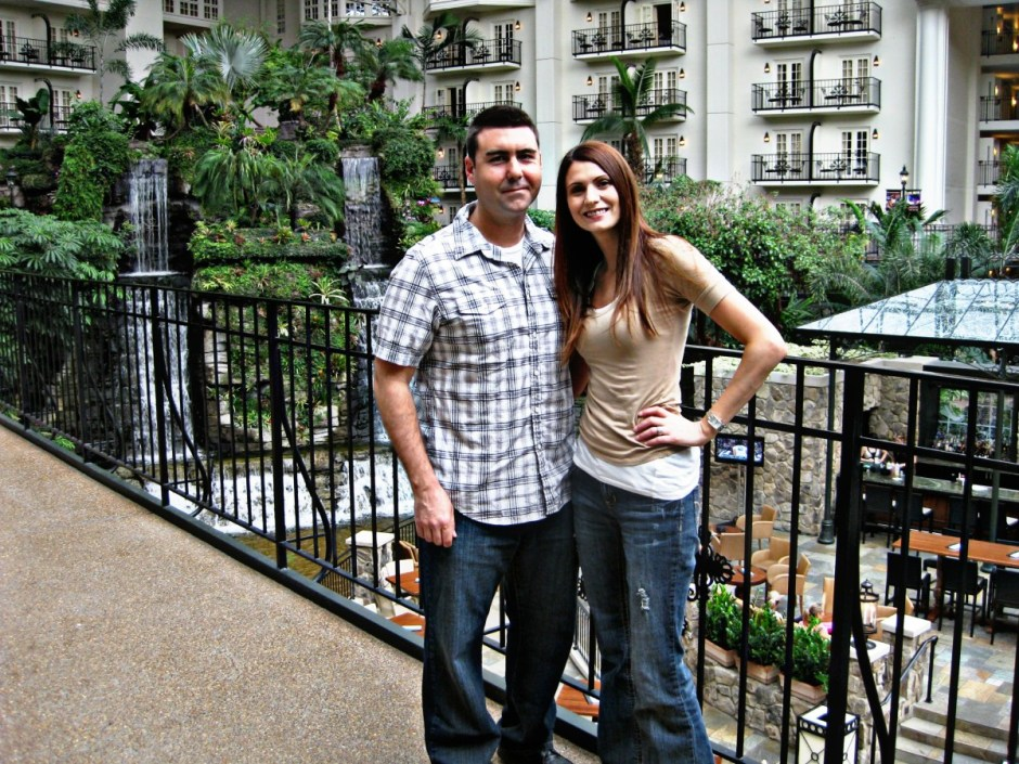 Us at the Opryland in Nashville
