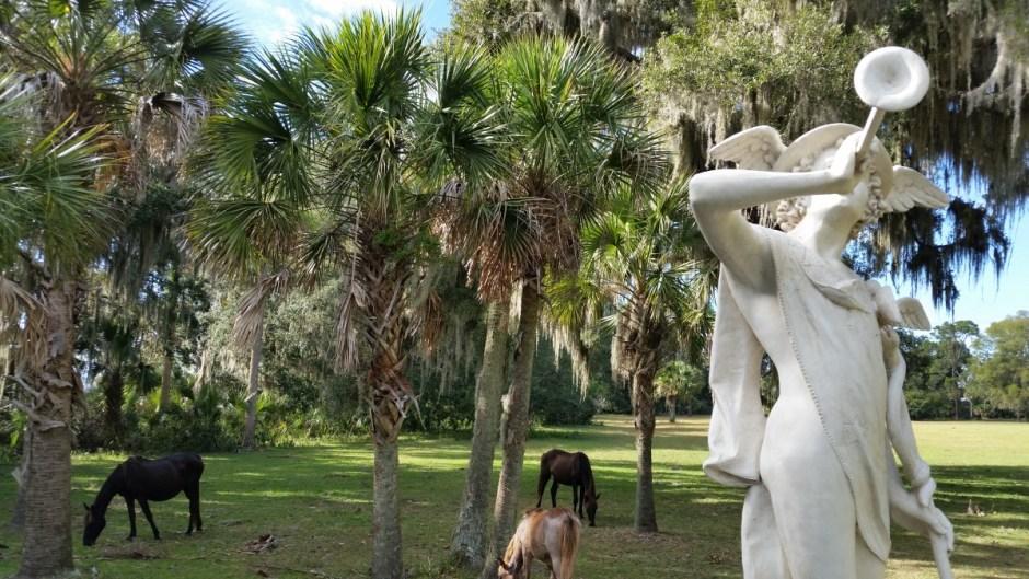 Cumberland Island Mercury Statue