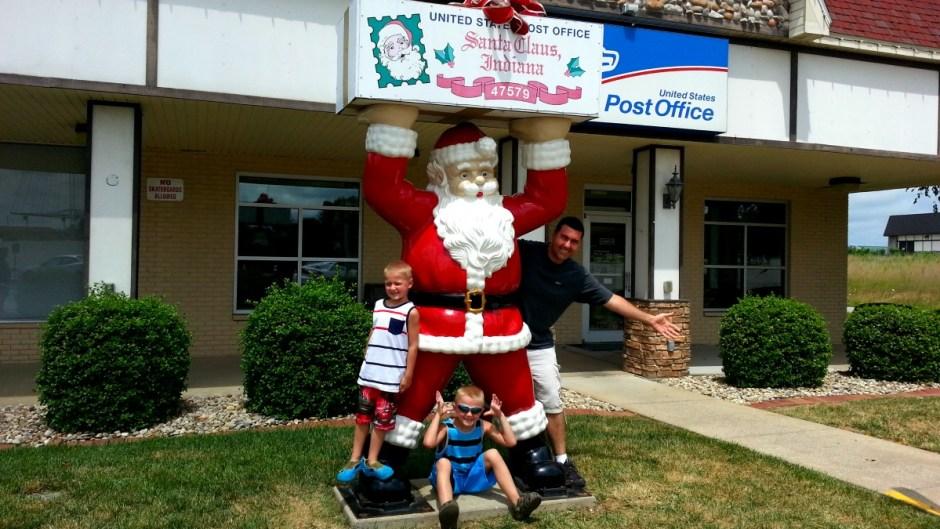 Santa Claus, Indiana Post Office