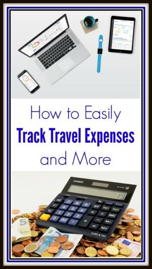 Track Travel Expenses