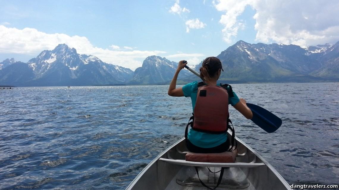 Grand Tetons Canoeing 2