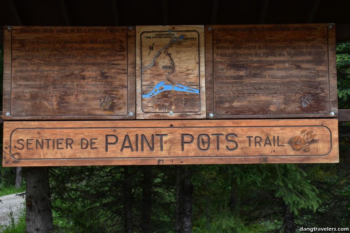 Paint Pots Kootenay National Park